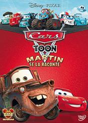 Cars Toon - Martin Se La Raconte - Couverture - Format classique