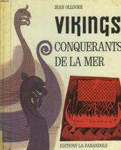 Vikings, Conquerants De La Mer - Couverture - Format classique
