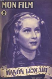 Mon Film N° 73 - Manon Lescaut - Couverture - Format classique