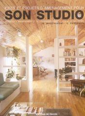 Idees Et Projets D'Amenagament Pour Son Studio - Intérieur - Format classique