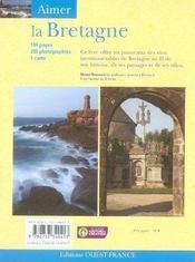 Aimer la bretagne - 4ème de couverture - Format classique