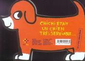 Le chien serviable - 4ème de couverture - Format classique