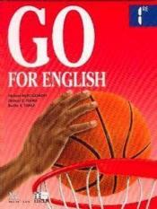 Go For English 1re (Afrique Centrale) - Couverture - Format classique