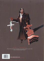 Creature T.1 ; Chimeres - 4ème de couverture - Format classique