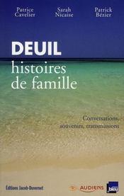 Deuil Histoires De Famille - Intérieur - Format classique