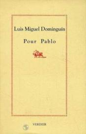 Pour Pablo - Couverture - Format classique