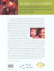 Au Rythme De La Vie Familiale - 4ème de couverture - Format classique