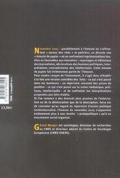 L'Emeute De Novembre 2005, Une Revolte Protopolitique - 4ème de couverture - Format classique