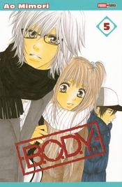 B.O.D.Y t.5 – Ao Mimori – ACHETER OCCASION – 23/10/2008
