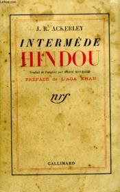 Intermede Hindou. - Couverture - Format classique