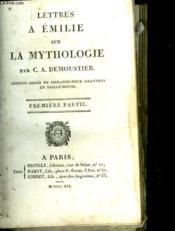 Lettres A Emilie Sur La Mythologie - Couverture - Format classique