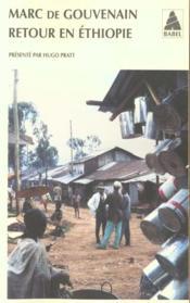 Retour En Ethiopie - Couverture - Format classique