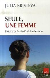 Seule, une femme - Intérieur - Format classique