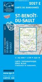 Saint-Benoît-sur-Sault - Couverture - Format classique