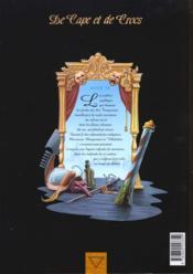 De cape et de crocs t.4 ; le mystère de l'île étrange - 4ème de couverture - Format classique
