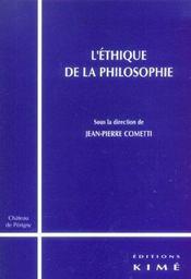 Ethique De La Philosophie (L') - Intérieur - Format classique