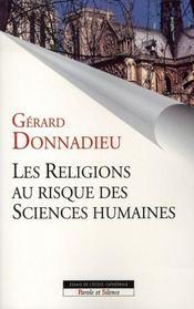 Les religions au risque des sciences humaines - Intérieur - Format classique