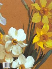 Peintres fleurs en france - 4ème de couverture - Format classique