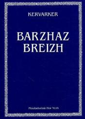 Barzaz breizh - Couverture - Format classique