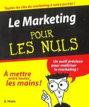 Le Marketing  - Alexander Hiam