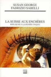 Suisse Aux Encheres (La) - Couverture - Format classique