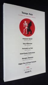 Revue Temps Noir N.2 - Couverture - Format classique
