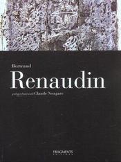 BERTRAND RENAUDIN. La Lumière du noir et du blanc - Intérieur - Format classique