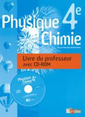 Vente livre :  Physique/chimie ; 4ème ; guide du professeur + cdrom (édition 2007)  - Martial Aude - Aude/Beaufils/Gobert - Aude/Beaufils/Gobert - Aude/Beaufils/Gobert