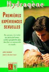 Premieres Experiences Sexuelles - Couverture - Format classique