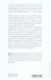 Colette, un génie féminin - 4ème de couverture - Format classique