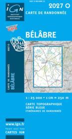 Belabre - Couverture - Format classique