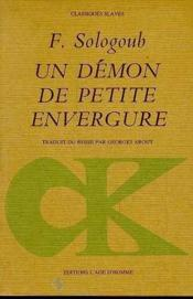 Un Demon De Petite Envergure - Couverture - Format classique