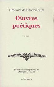 Oeuvres Poetiques - Intérieur - Format classique