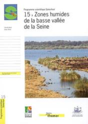 15 - Zones Humides De La Basse Vallee De La Seine - Couverture - Format classique