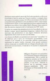 Milagros Esquerro - 4ème de couverture - Format classique