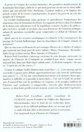 Testament Politique De L'Antiquite - 4ème de couverture - Format classique