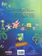 Bob l'éponge t.2 ; en avant toute - 4ème de couverture - Format classique