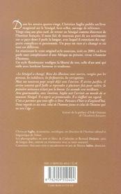 Sénégal - 4ème de couverture - Format classique