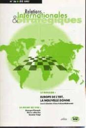 Europe de l'est, la nouvelle donne. revue internationale et strategique n 26-1997 - Couverture - Format classique