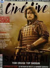 CINE LIVE - N° 75 - LE DERNIER SAMOURAI, Tom CRUISE top shogun - Couverture - Format classique