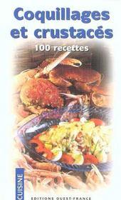 Coquillages et crustaces, 100 recettes - Intérieur - Format classique