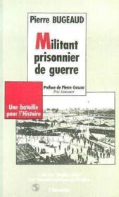 Militant prisonnier de guerre - Couverture - Format classique