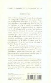 Bicentenaire Babel 731 - 4ème de couverture - Format classique