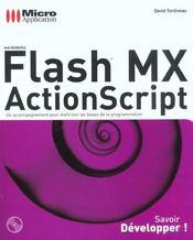 Flash Mx Actionscript ; Developpez - Intérieur - Format classique
