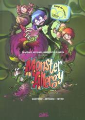 Monster allergy t.3 ; magnacat - Couverture - Format classique