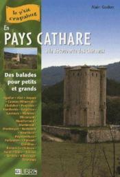 En pays Cathare ; à la découverte des châteaux - Couverture - Format classique