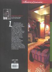 Clos De Lupin (Le) - 4ème de couverture - Format classique