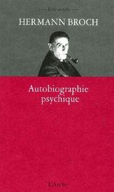 Autobiographie psychique - Couverture - Format classique