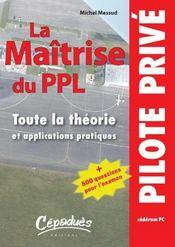 La Maitrise Du Ppl (Cederom Pc) - Intérieur - Format classique