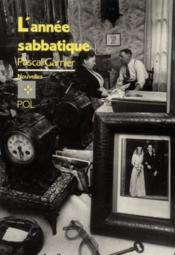 L'année sabbatique - Couverture - Format classique